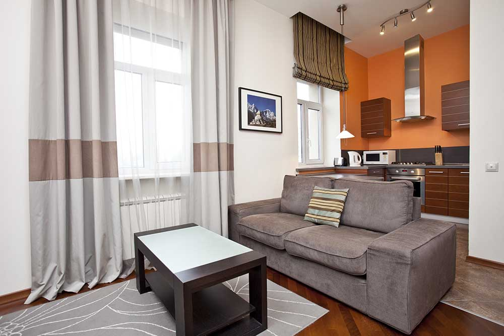 Moscow Suites Apartment Blue