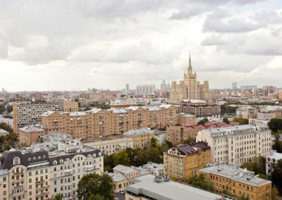 Moscow Suites Apartment Cream Room View